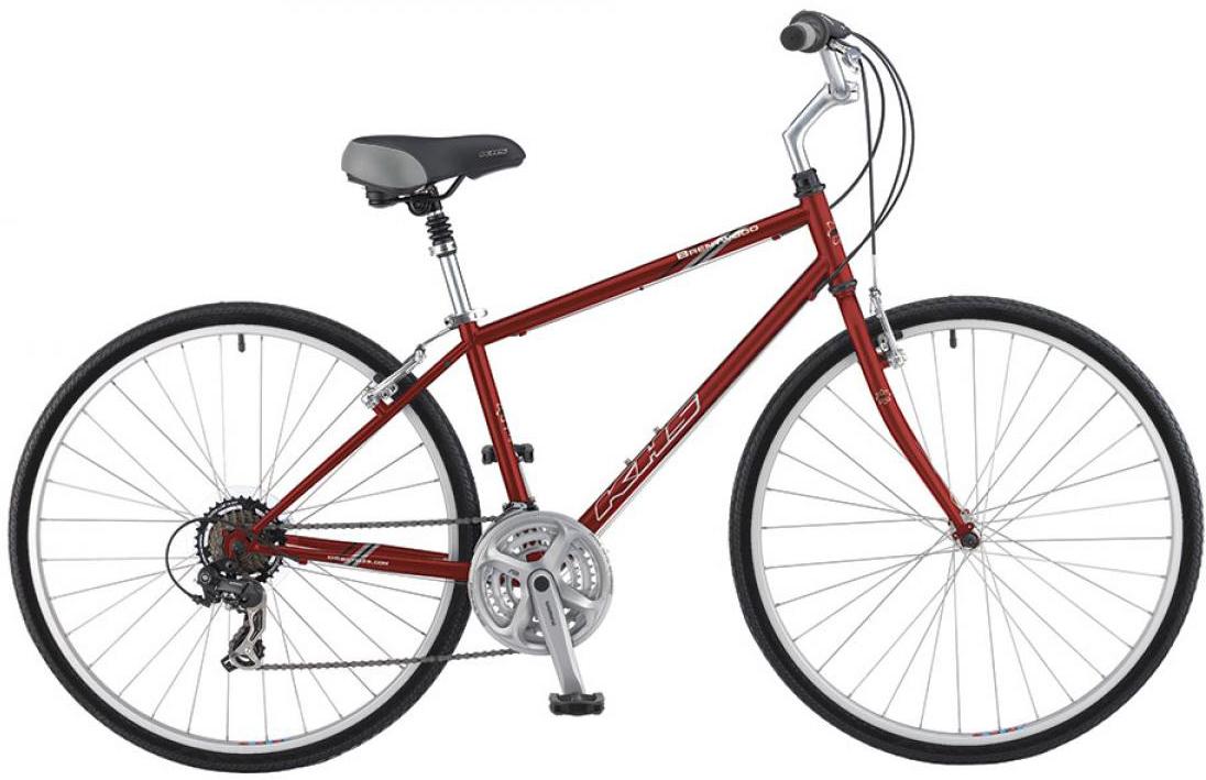 Велосипед городской KHS Brentwood 2016, цвет: красный, рама 19, колесо 28258686