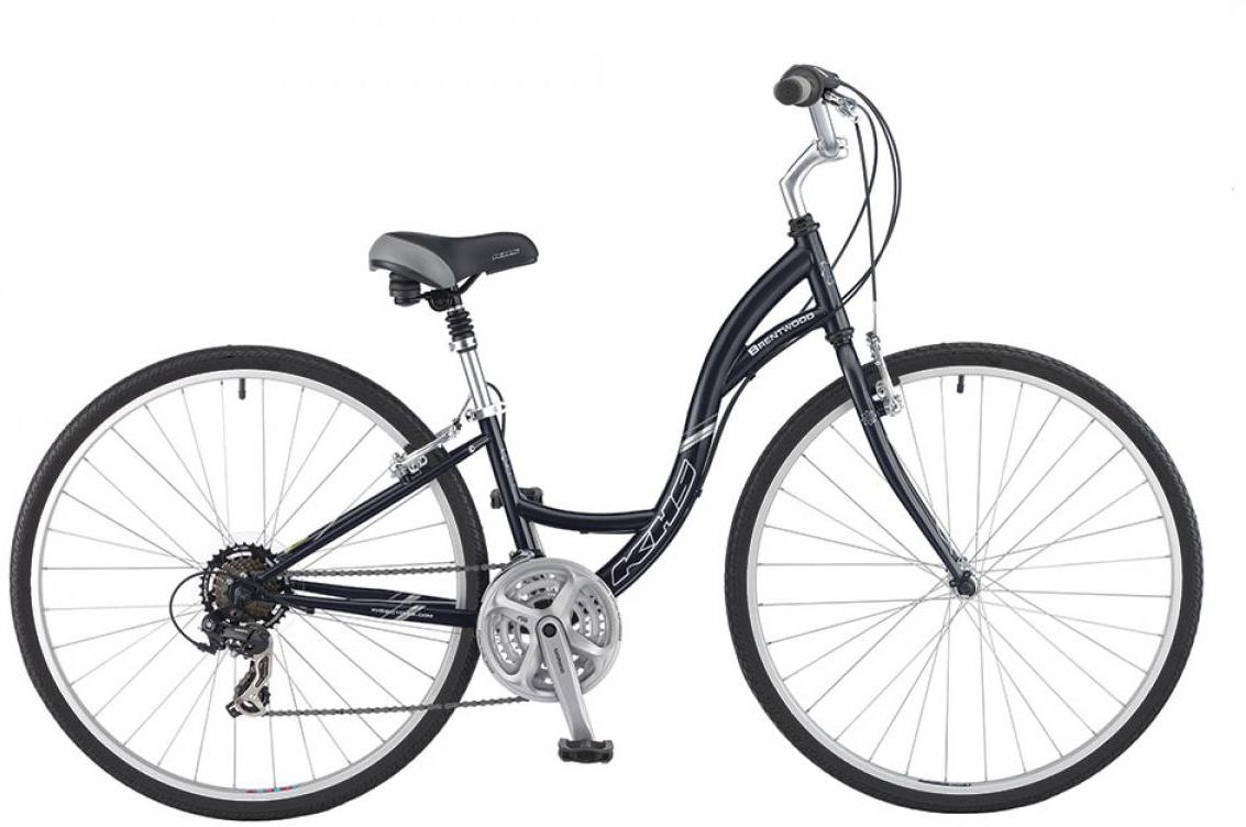 Велосипед городской KHS Brentwood Ladies 2016, цвет: черный, рама 17, колесо 28258689