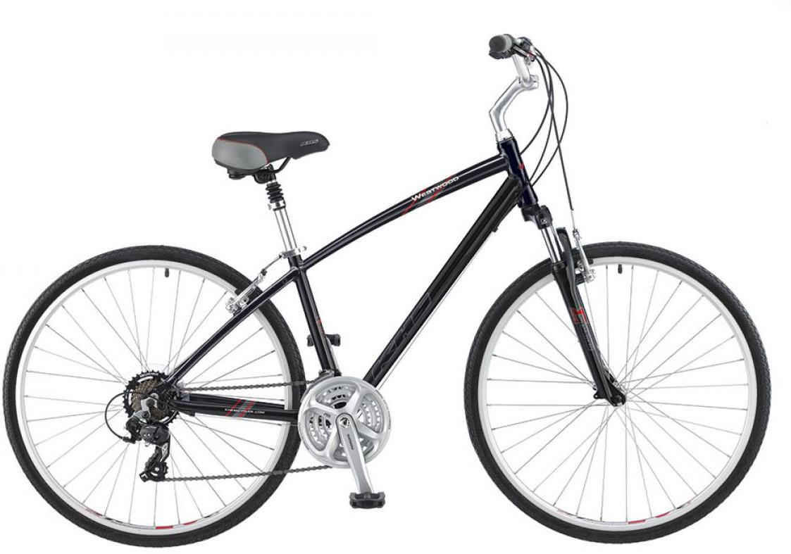 Велосипед городской KHS Westwood 2016, цвет: черный, рама 21, колесо 28258697