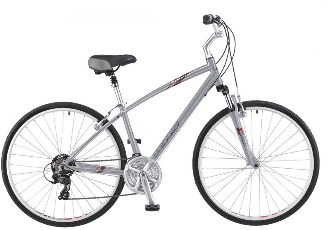 Велосипед городской KHS Westwood 2016, цвет: серый, рама 21, колесо 28258701