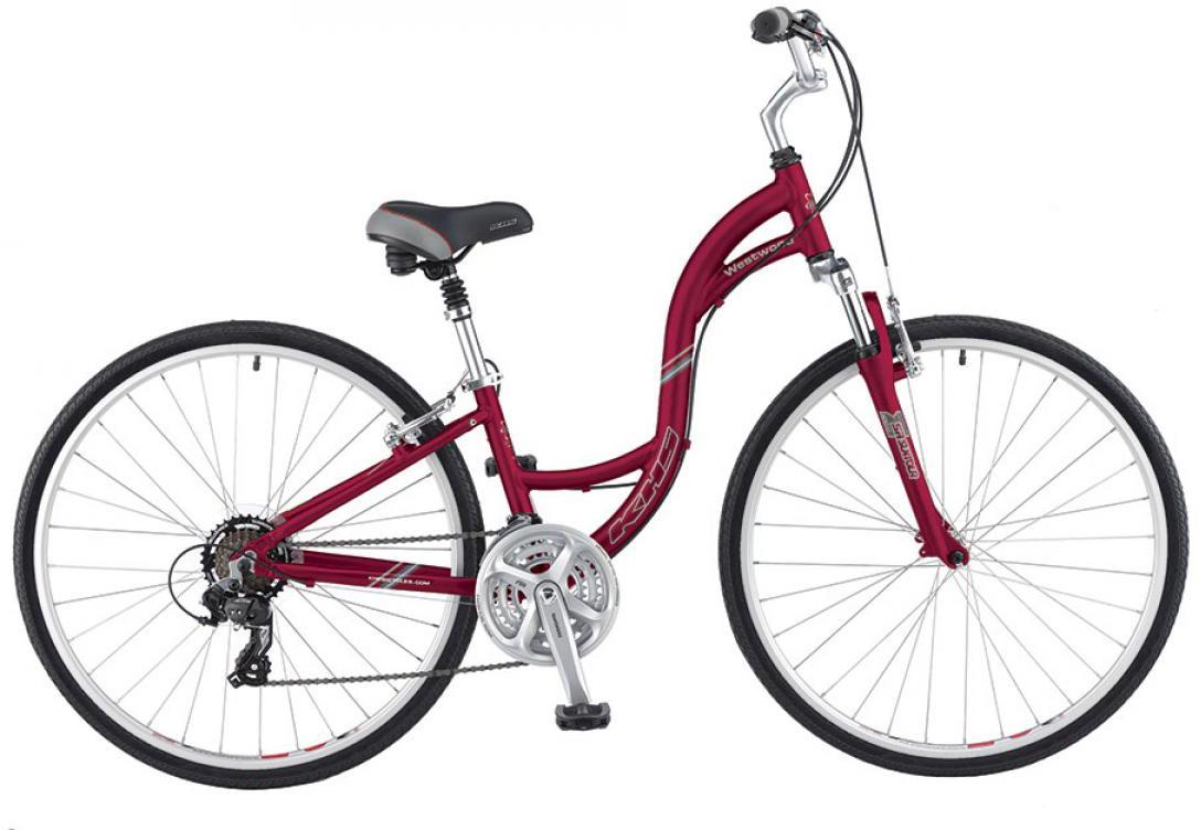 Велосипед городской KHS Westwood Ladies 2016, цвет: красный, рама 17, колесо 28258705
