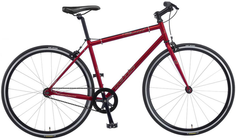 Велосипед городской KHS Urban Soul 2016, цвет: красный, рама 20, колесо 28258712
