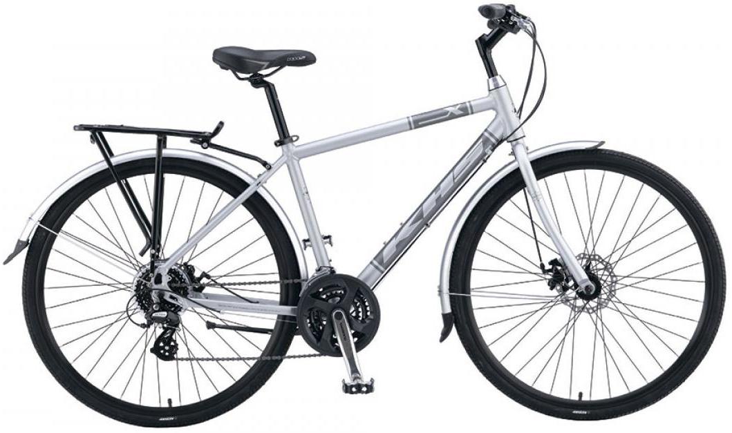 Велосипед городской KHS Urban X 2016, цвет: серый, рама 20, колесо 28258716