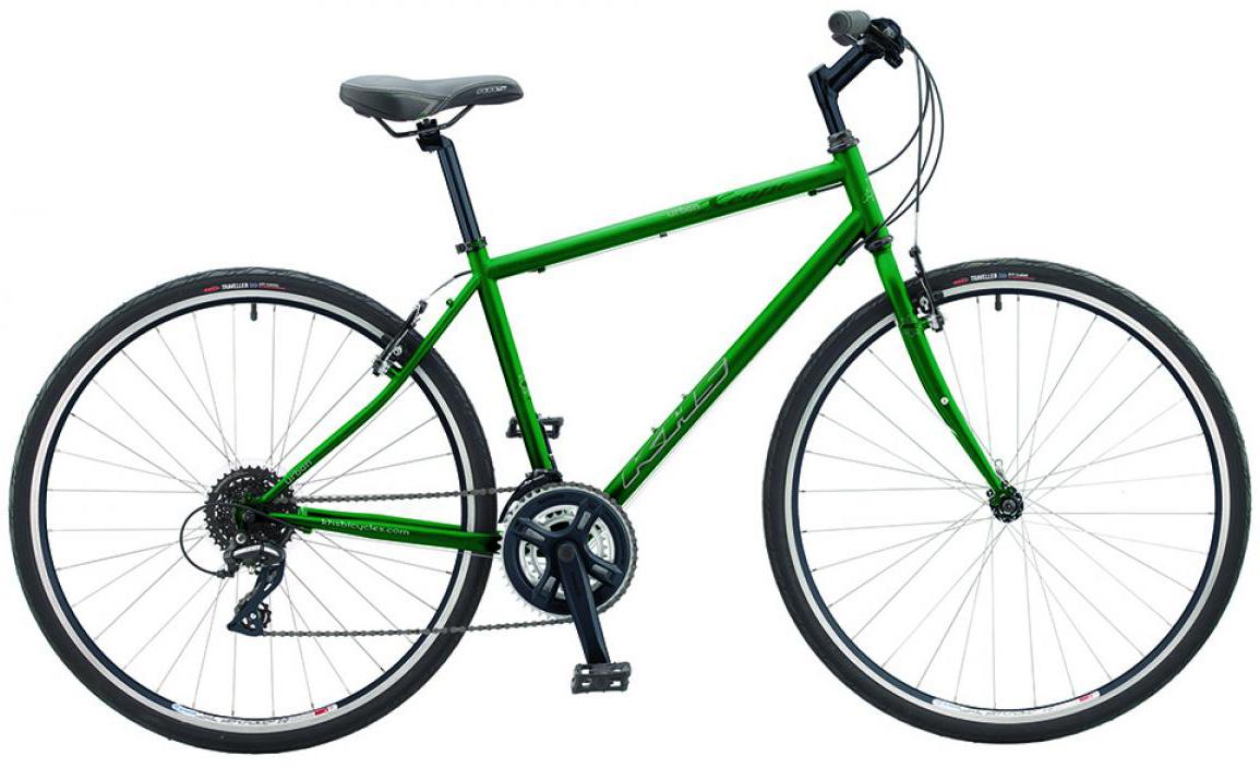 Велосипед городской KHS Urban Xcape 2016, цвет: зеленый, рама 22, колесо 28258725