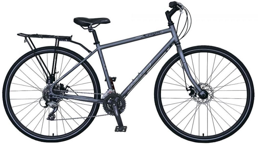 Велосипед городской KHS Urban Xcape Disc 2016, цвет: серый, рама 18, колесо 28258727