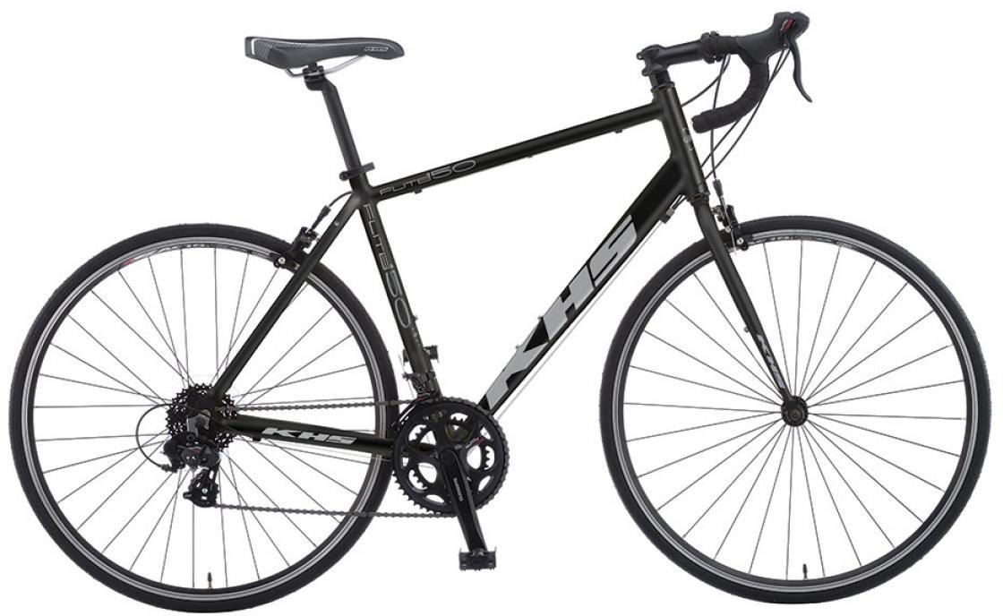 Велосипед шоссейный KHS Flite 150 2016, цвет: черный, рама 19,5, колесо 28258730