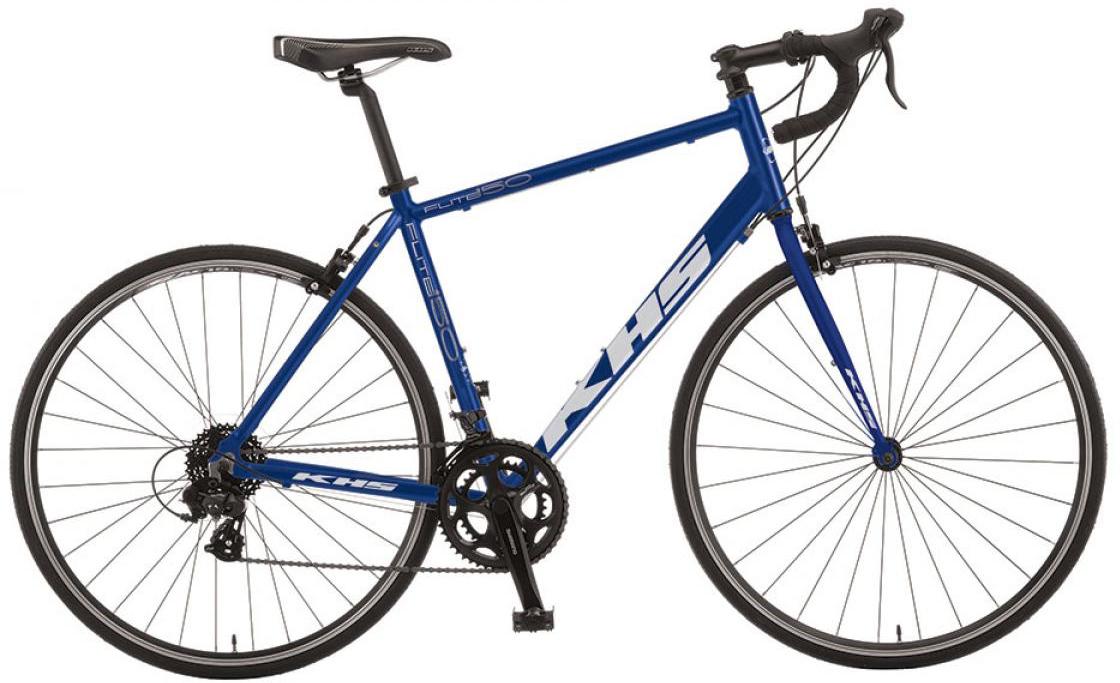 Велосипед шоссейный KHS Flite 150 2016, цвет: синий, рама 20,5, колесо 28258735