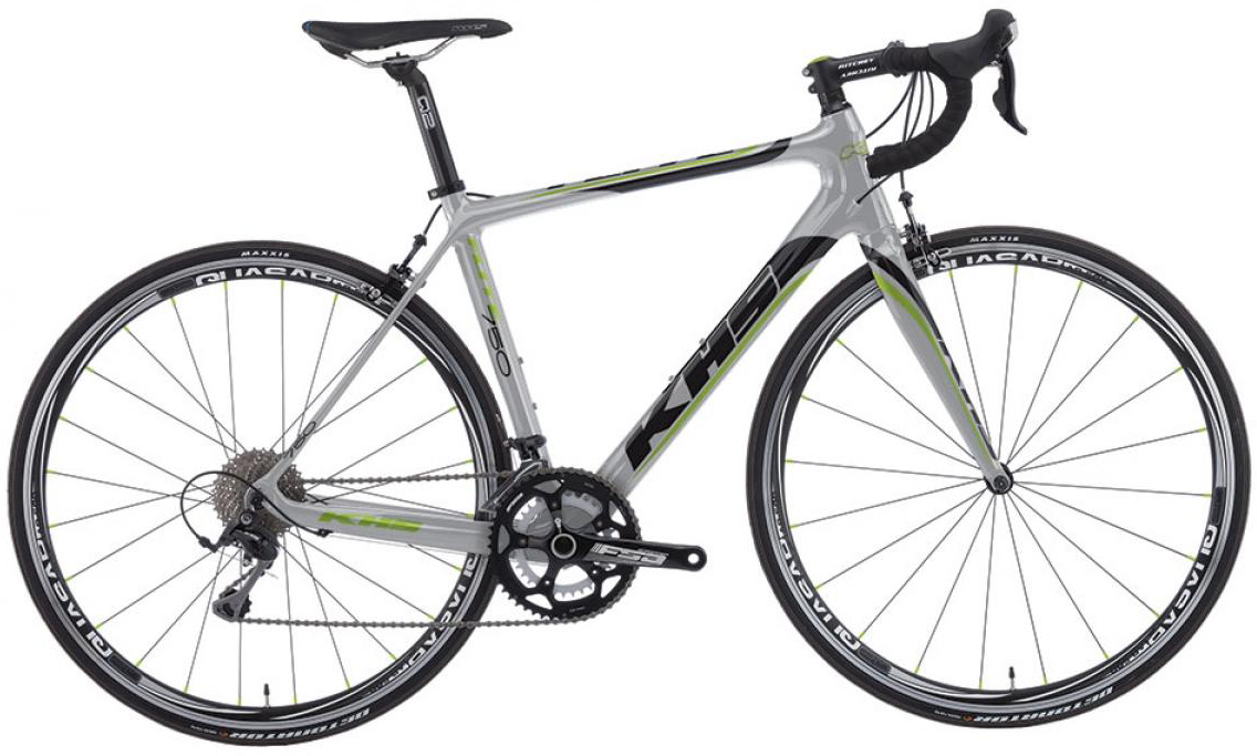 Велосипед шоссейный KHS Flite 750 2016, цвет: серый, рама 21,5, колесо 28258768