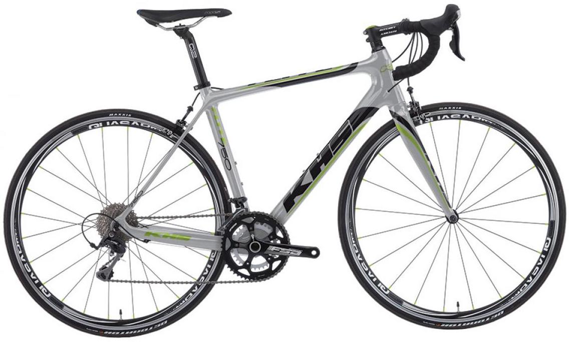 Велосипед шоссейный KHS Flite 750 2016, цвет: серый, рама 23, колесо 28258769