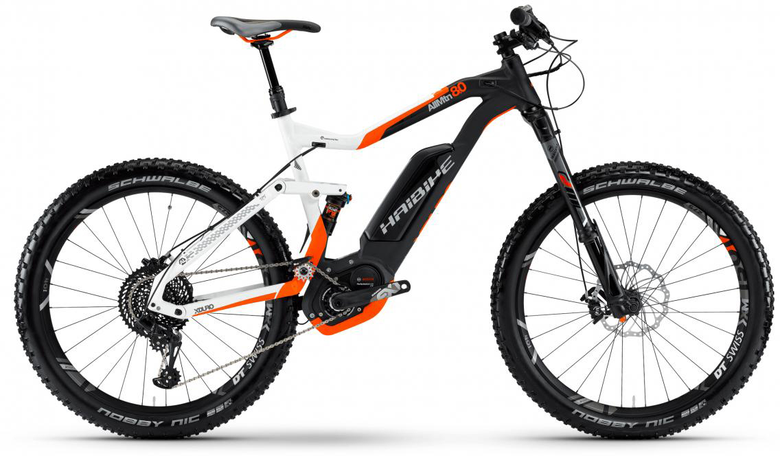 Электровелосипед горный Haibike Xduro AllMtn 8.0 500Wh 2017, цвет: белый, рама 18, колесо 27,5283858