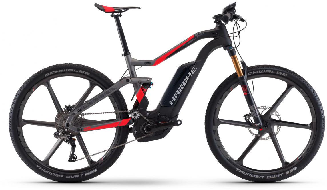 Электровелосипед горный Haibike Xduro FullSeven Carbon 10.0 500Wh 2017, цвет: черный, рама 16, колесо 27,5283877
