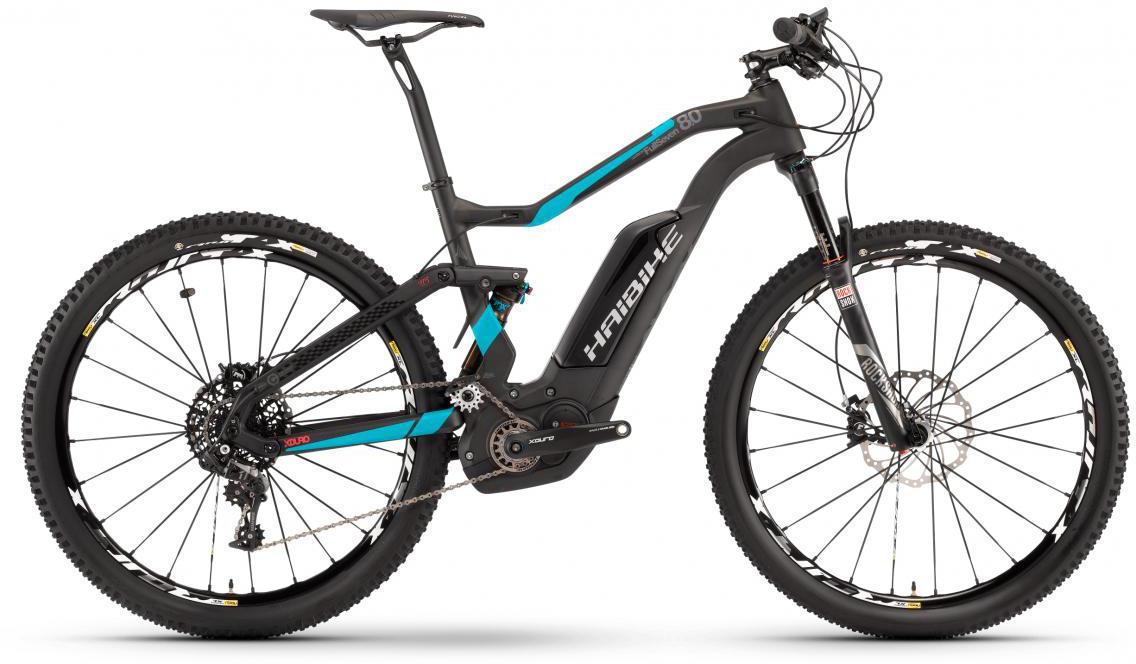 Электровелосипед горный Haibike Xduro FullSeven Carbon 8.0 500Wh 2017, цвет: черный, рама 16, колесо 27,5283883
