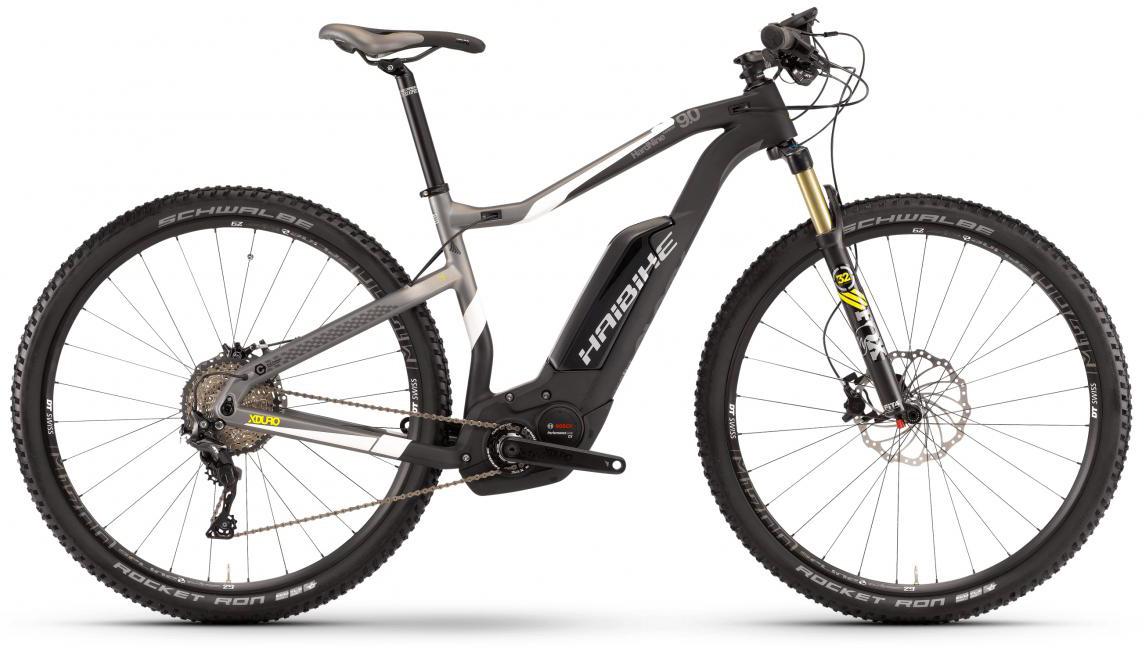 Электровелосипед горный Haibike Xduro HardNine Carbon 9.0 500Wh 2017, цвет: черный, рама 21,5, колесо 29283899