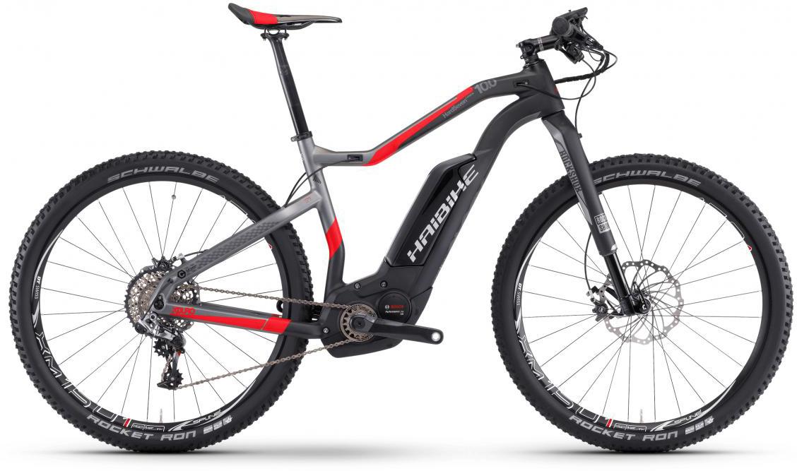 Электровелосипед горный Haibike Xduro HardSeven Carbon 10.0 500Wh 2017, цвет: черный, рама 19,5, колесо 27,5283924