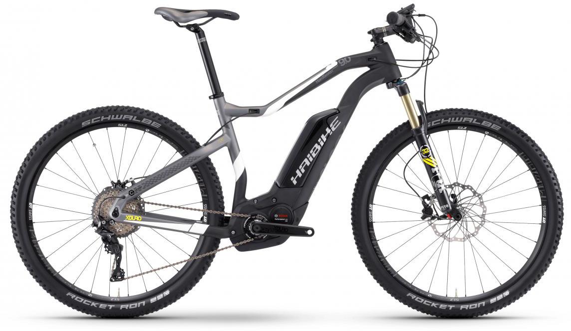 Электровелосипед горный Haibike Xduro HardSeven Carbon 9.0 500Wh 2017, цвет: черный, рама 16, колесо 27,5283929