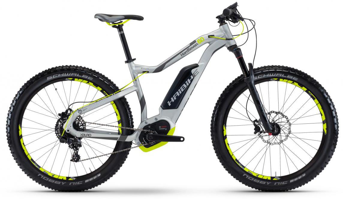 Электровелосипед горный Haibike Xduro HardSeven 6.0 500Wh 2017, цвет: серый, рама 18, колесо 27,5283939