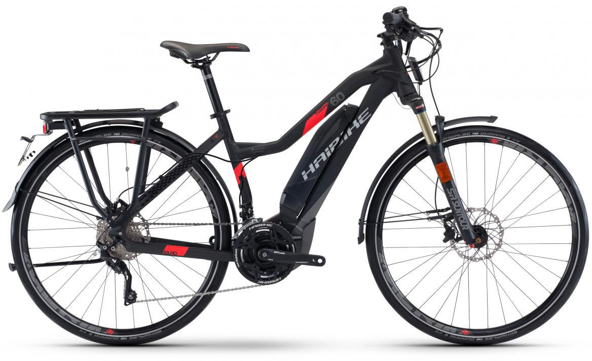 Электровелосипед женский Haibike Sduro Trekking S 6.0 Low-Step 500Wh 2017, цвет: черный, рама 16, колесо 28283957