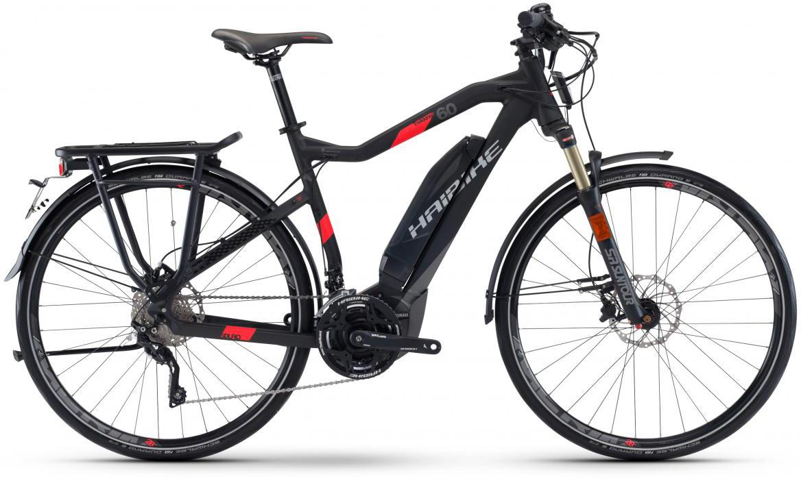 Электровелосипед городской Haibike Sduro Trekking S 6.0 500Wh 2017, цвет: черный, рама 19, колесо 28283962
