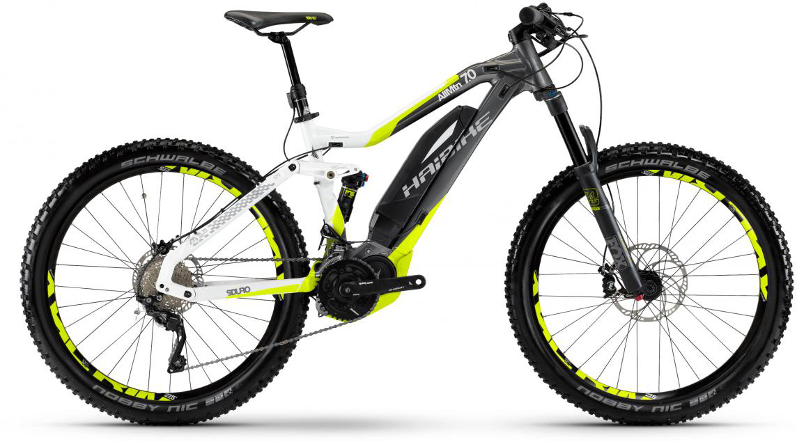 Электровелосипед горный Haibike Sduro AllMtn 7.0 500Wh 2017, цвет: серый, рама 16, колесо 27,5283984