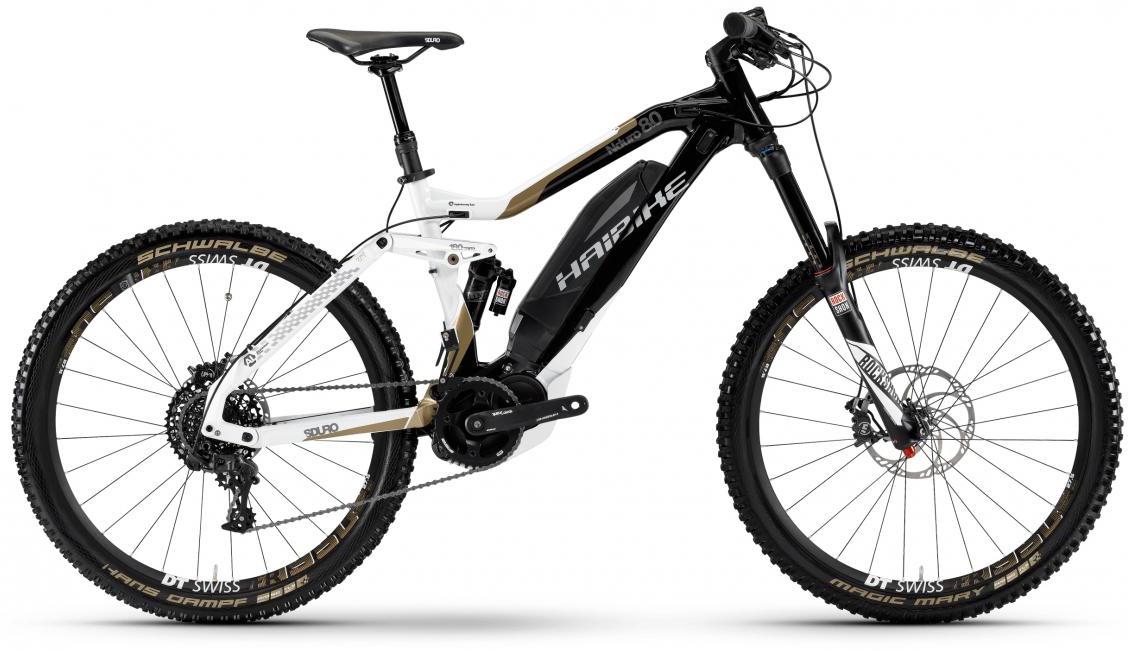 Электровелосипед горный Haibike Sduro Nduro 8.0 500Wh 2017, цвет: черный, рама 19, колесо 27,5284003