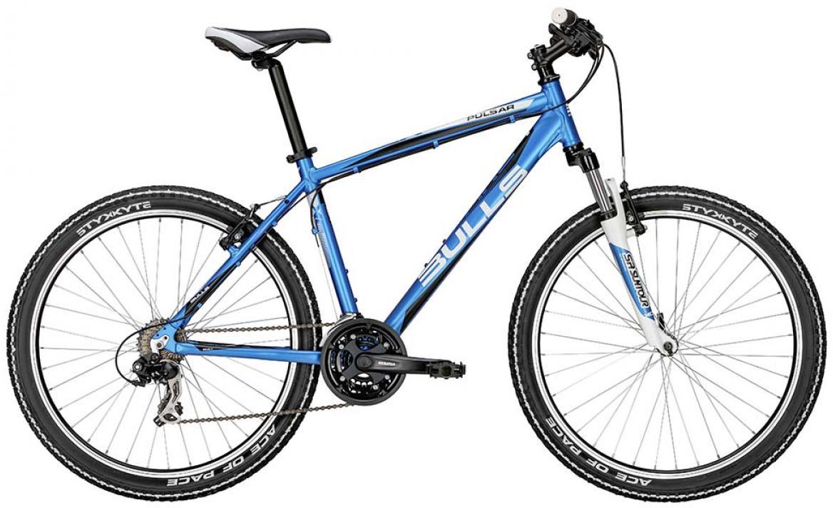 Велосипед горный Bulls Pulsar 2015, цвет: синий, рама 16, колесо 26128386