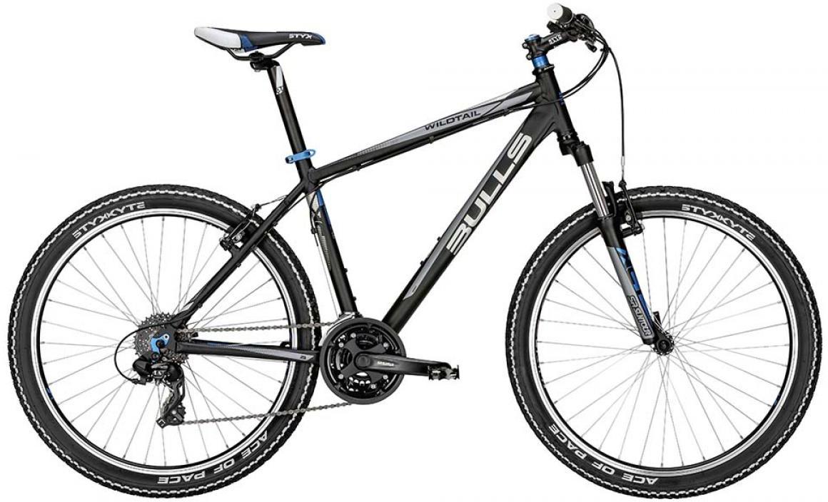 Велосипед горный Bulls Wildtail 2015, цвет: черный, рама 18, колесо 26. 0128402128402