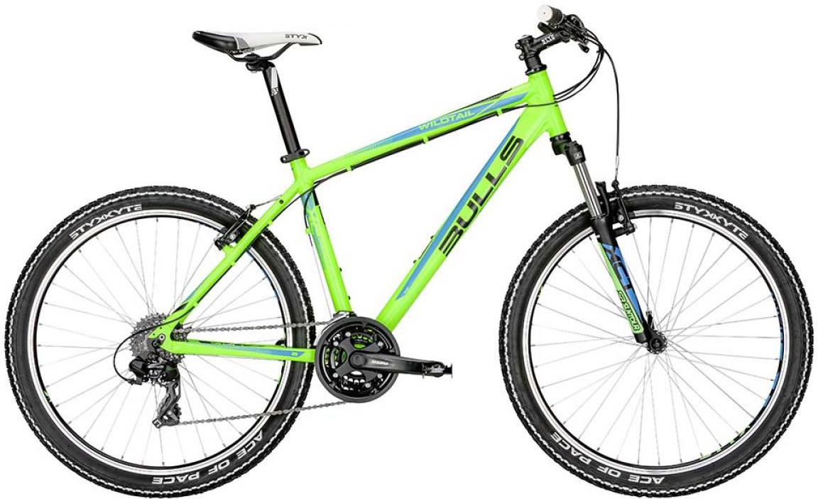 Велосипед горный Bulls Wildtail 2015, цвет: зеленый, рама 18, колесо 26128407