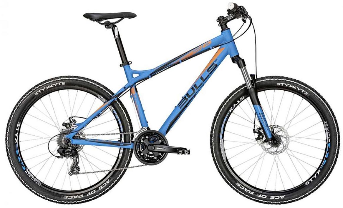 Велосипед горный Bulls Sharptail 1 Disc 2015, цвет: синий, рама 22, колесо 26128424