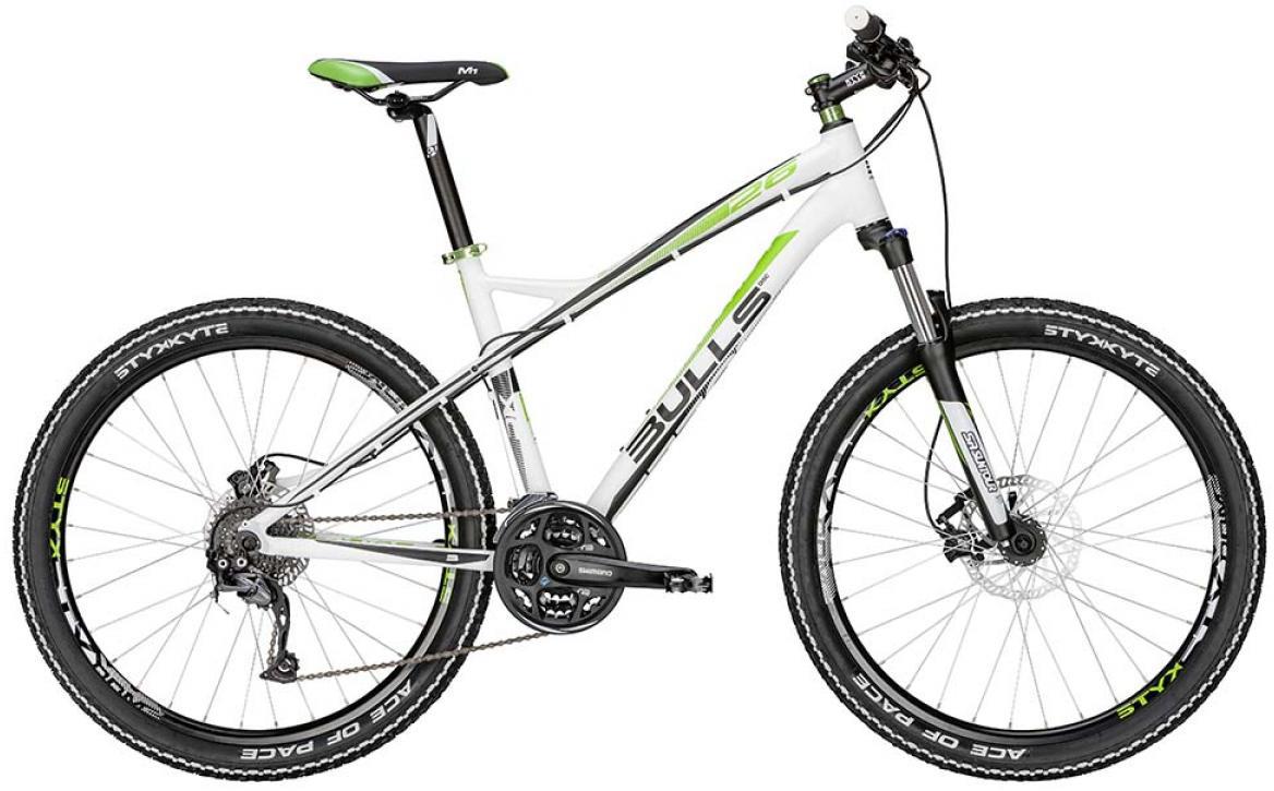 Велосипед горный Bulls Sharptail 2 Disc 2015, цвет: белый, рама 18, колесо 26128436