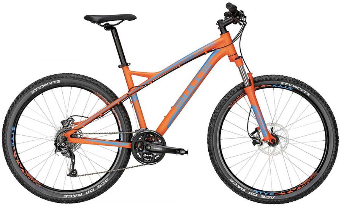 Велосипед горный Bulls Sharptail 2 Disc 2015, цвет: оранжевый, рама 16, колесо 27,5128514