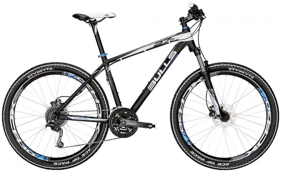 Велосипед горный Bulls Bushtail 2015, цвет: черный, рама 16, колесо 27,5. 0128543128543