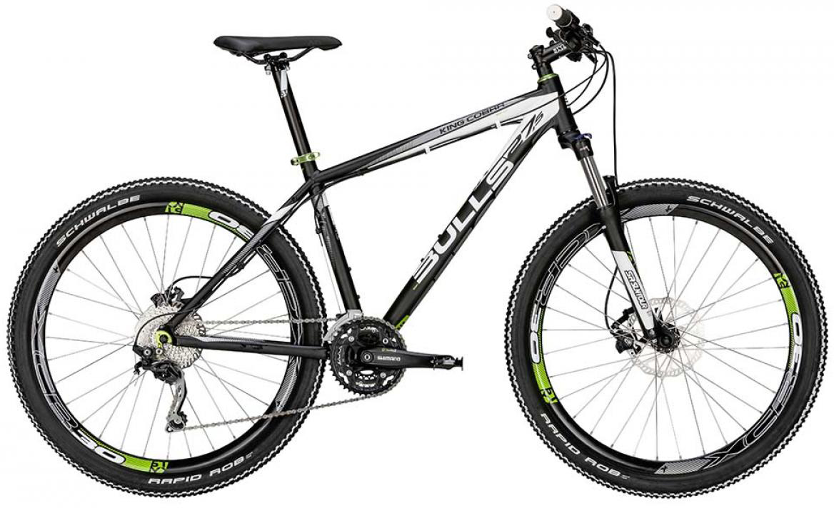 Велосипед горный Bulls King Cobra Disc 2015, цвет: черный, рама 18, колесо 27,5128552