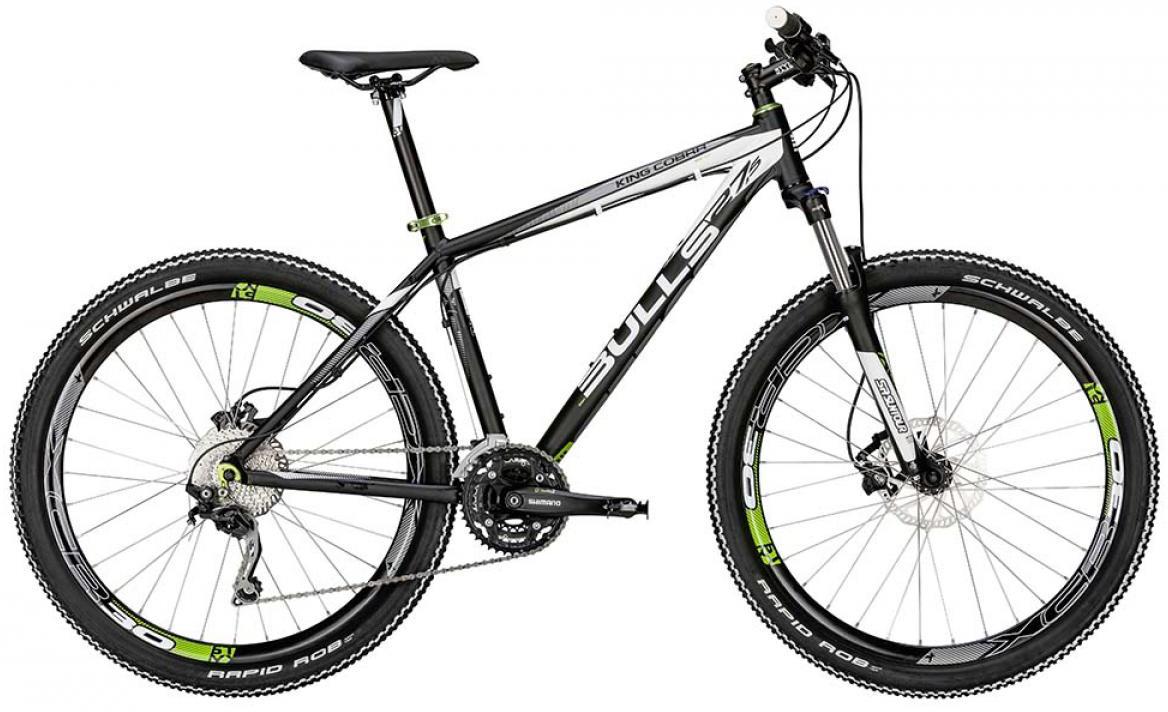 Велосипед горный Bulls King Cobra Disc 2015, цвет: черный, рама 20, колесо 27,5128553