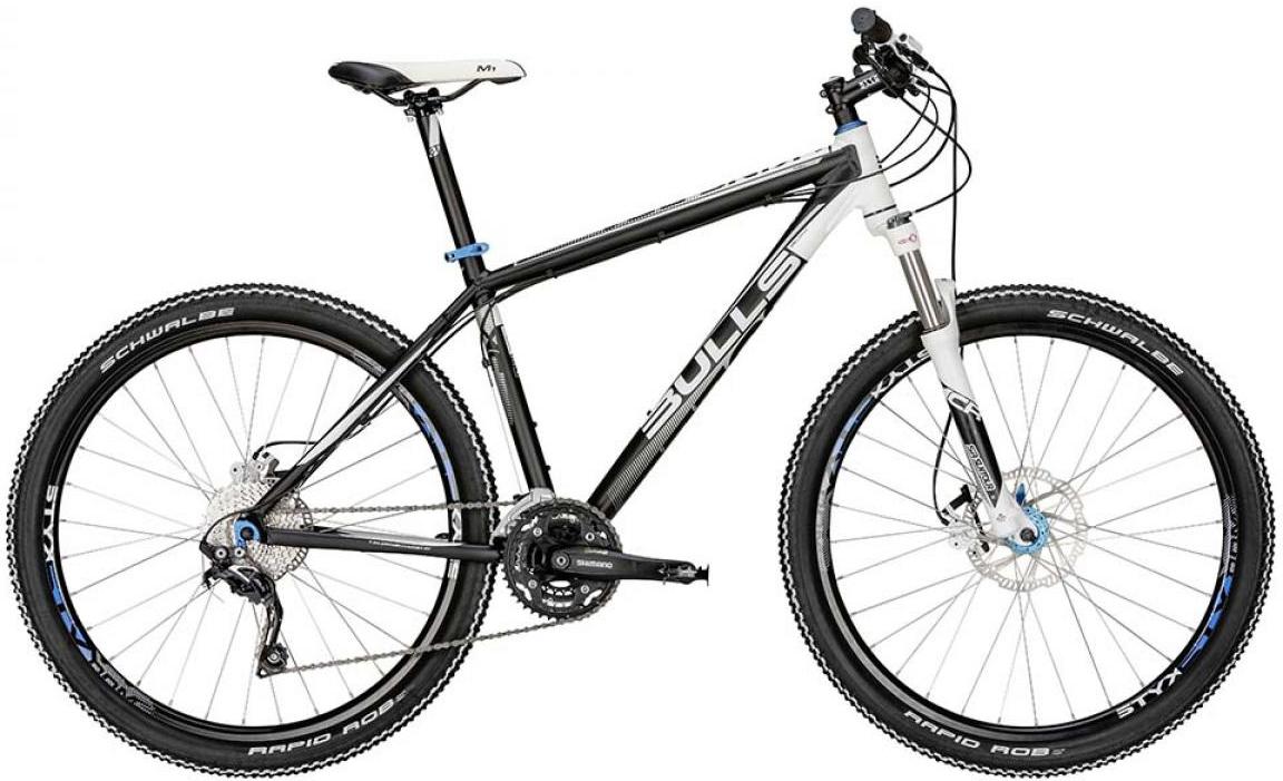 Велосипед горный Bulls King Boa 2015, цвет: черный, рама 22, колесо 27,5128559