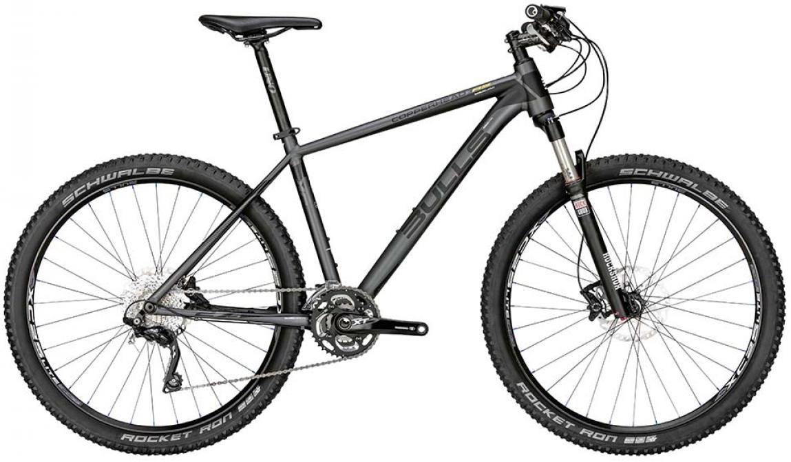 Велосипед горный Bulls Copperhead 3 RS 2015, цвет: черный, рама 22, колесо 27,5128569