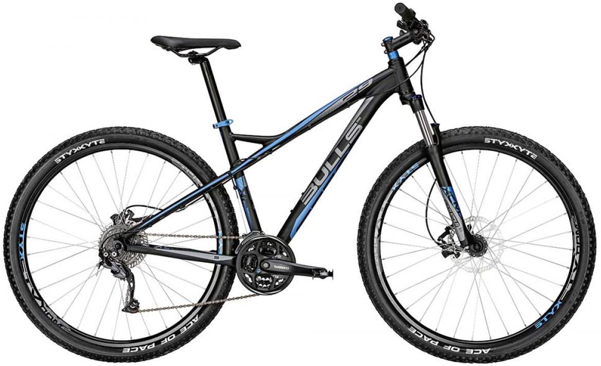 Велосипед горный Bulls Sharptail 2015, цвет: черный, рама 22, колесо 29128594
