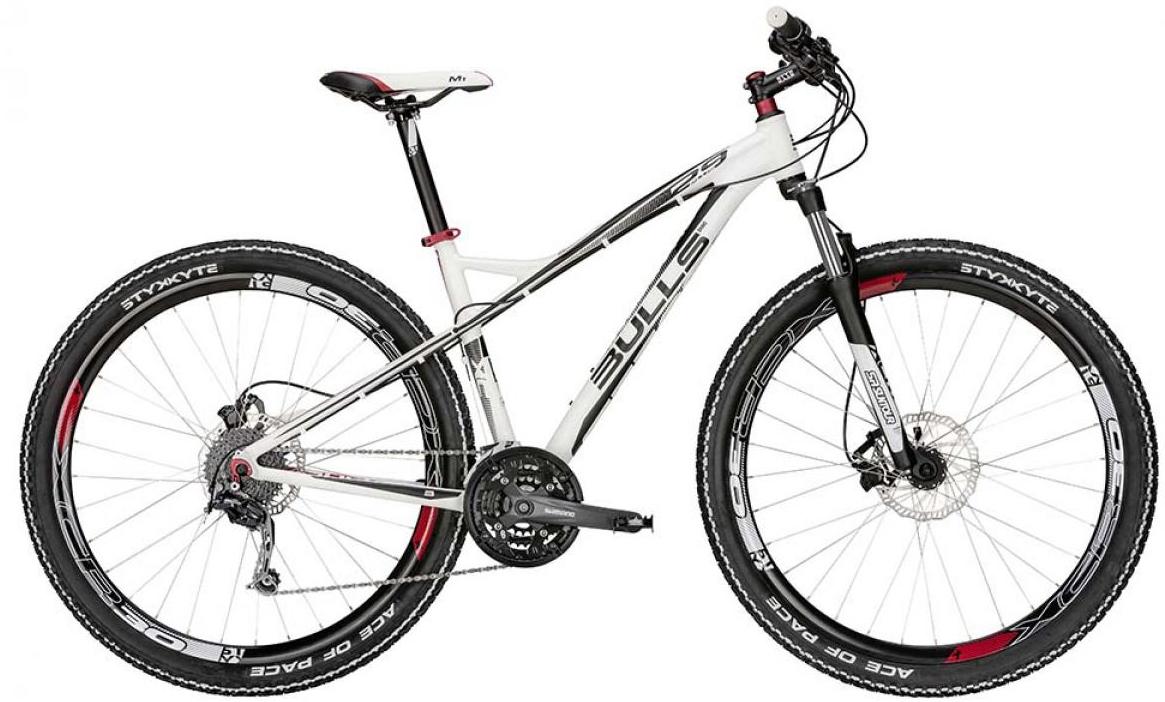 Велосипед горный Bulls Sharptail Plus 2015, цвет: белый, рама 24, колесо 29128603