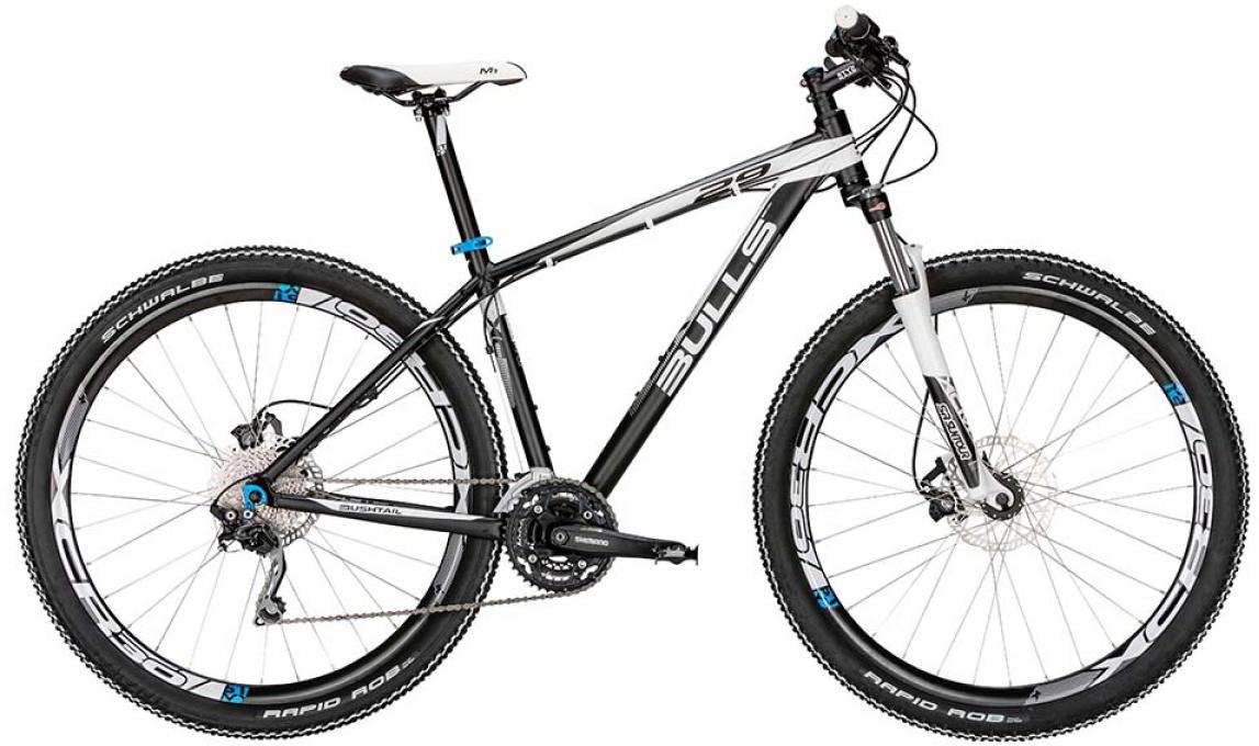 Велосипед горный Bulls Bushtail 2015, цвет: черный, рама 24, колесо 29. 0128618128618