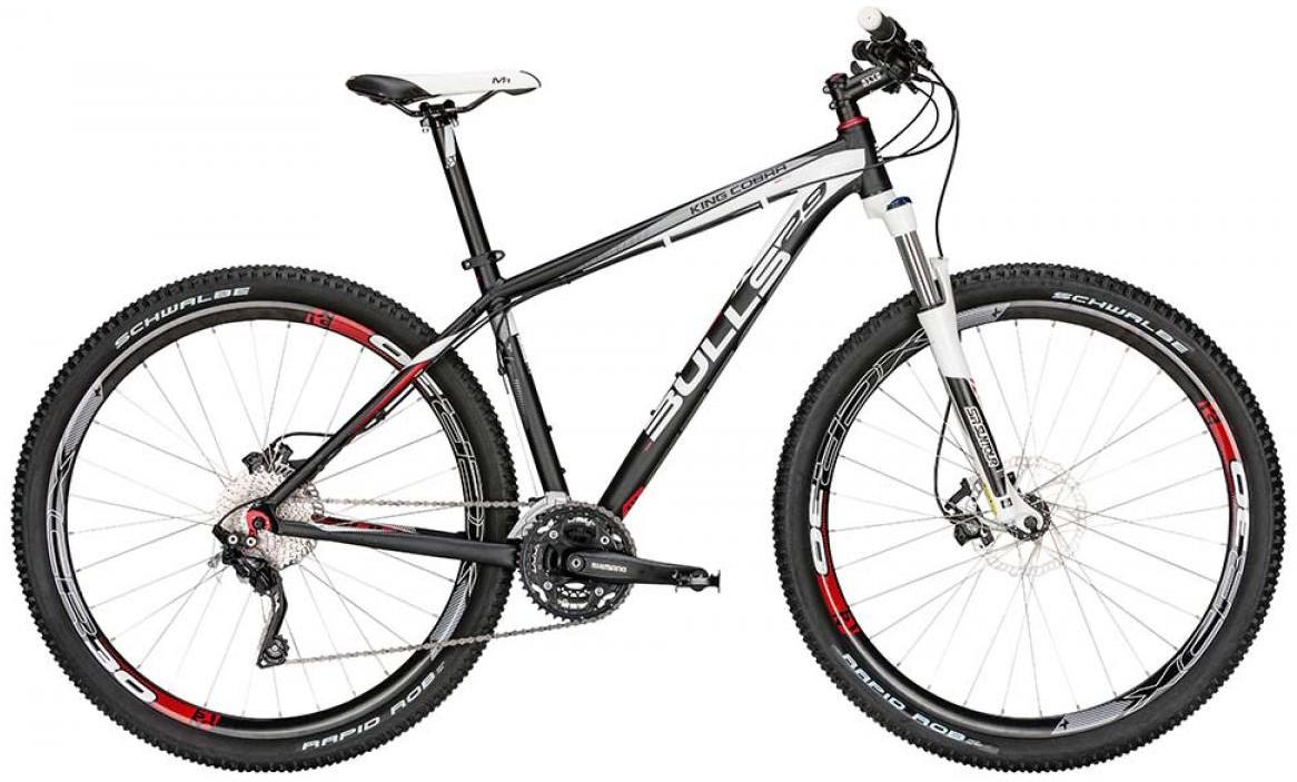 Велосипед горный Bulls King Cobra Disc 2015, цвет: серый, рама 22, колесо 29128626