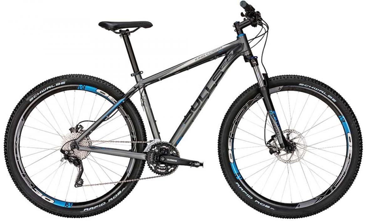 Велосипед горный Bulls King Cobra Disc 2015, цвет: черный, рама 18, колесо 29128630