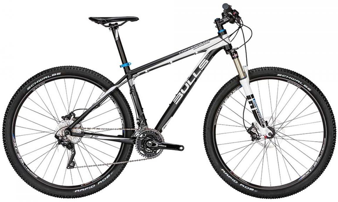 Велосипед горный Bulls Copperhead Supreme 2015, цвет: черный, рама 16, колесо 29128634