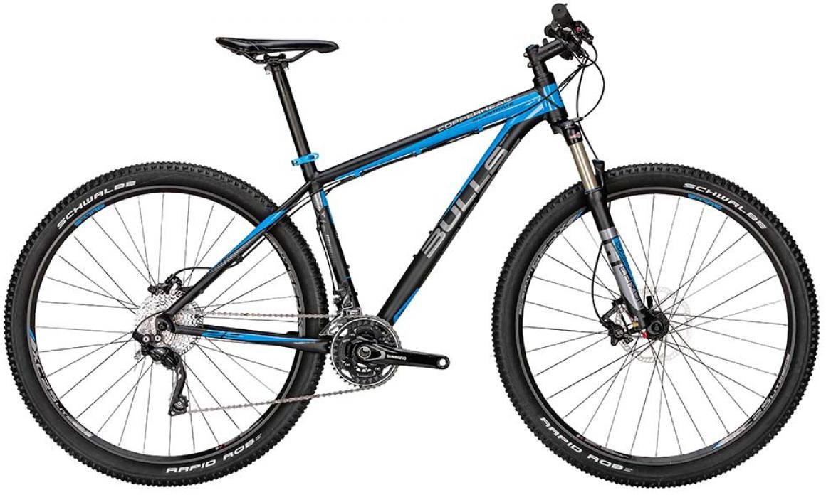 Велосипед горный Bulls Copperhead Supreme 2015, цвет: синий, рама 22, колесо 29128642