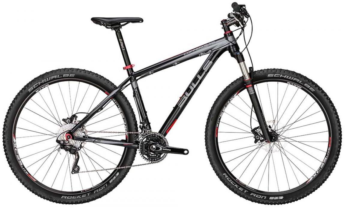 Велосипед горный Bulls Copperhead 2015, цвет: серый, рама 20, колесо 29128648
