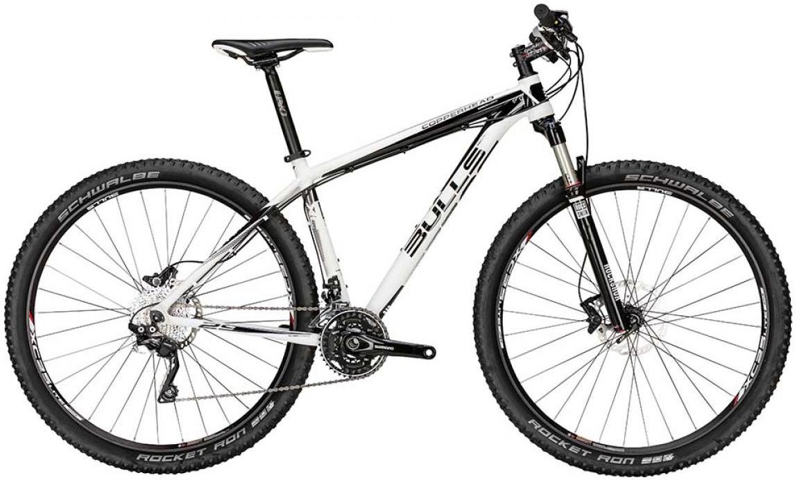 Велосипед горный Bulls Copperhead 2015, цвет: белый, рама 16, колесо 29128652