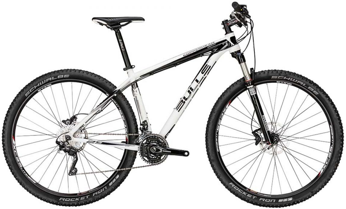 Велосипед горный Bulls Copperhead 2015, цвет: белый, рама 18, колесо 29128654