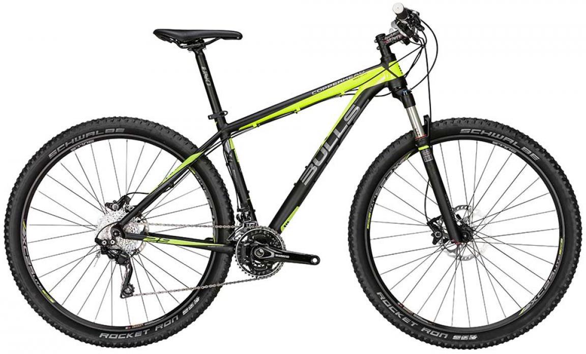 Велосипед горный Bulls Copperhead 2015, цвет: желтый, рама 22, колесо 29128662