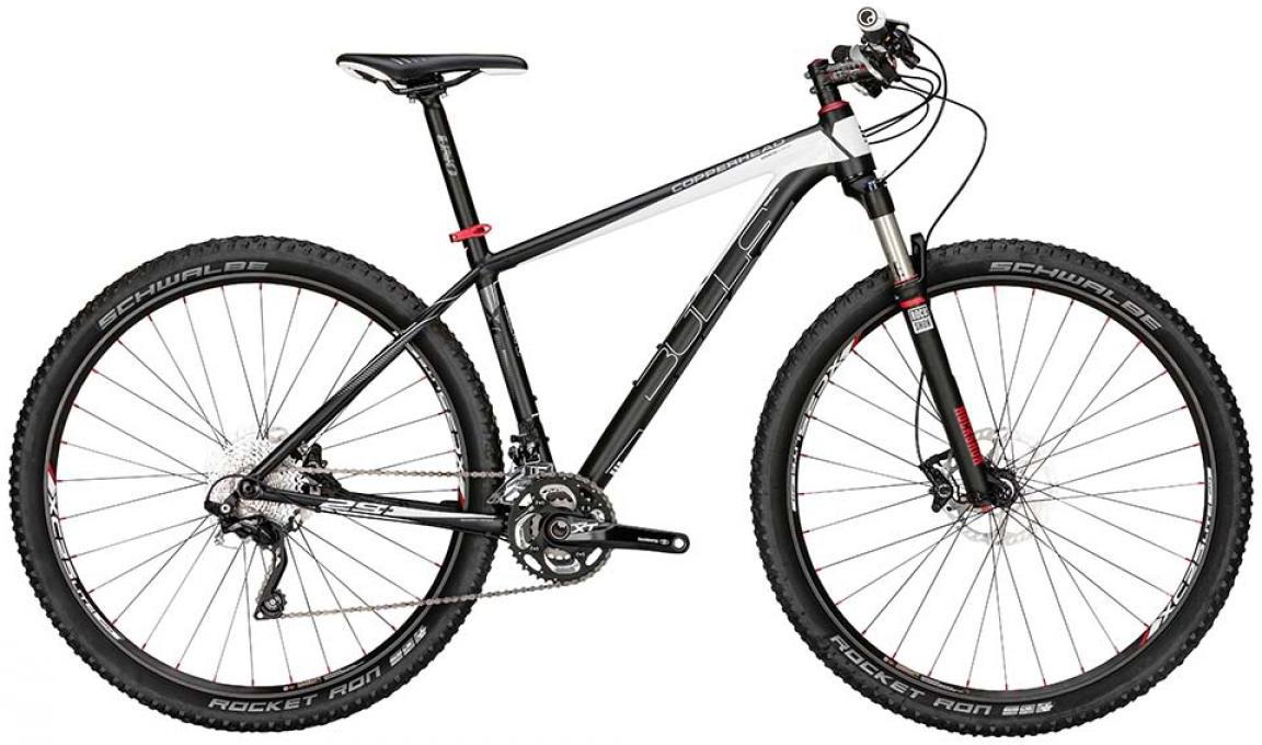 Велосипед горный Bulls Copperhead Plus 2015, цвет: черный, рама 22, колесо 29128668