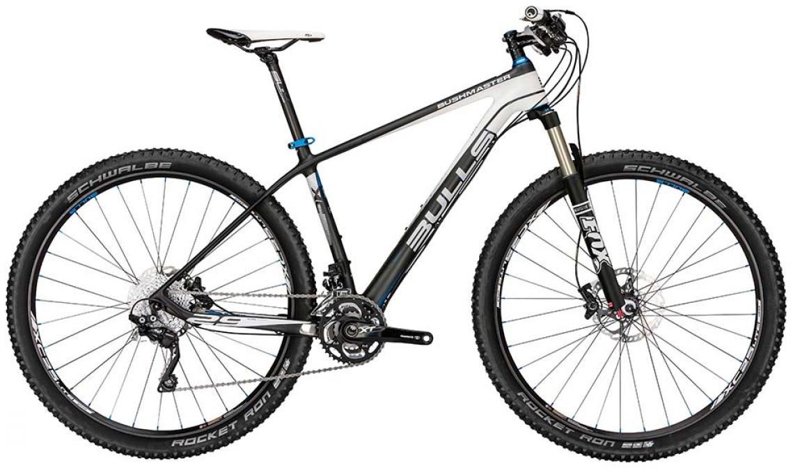 Велосипед горный Bulls Bushmaster UD 2015, цвет: черный, рама 20, колесо 29128718