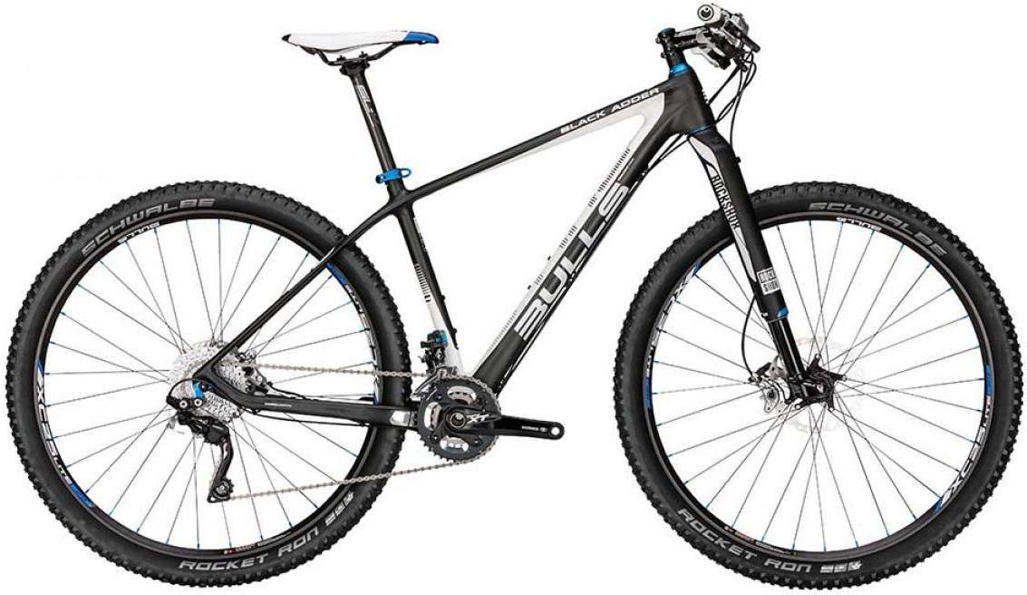 Велосипед горный Bulls Black Adder 2015, цвет: черный, рама 22, колесо 29128723