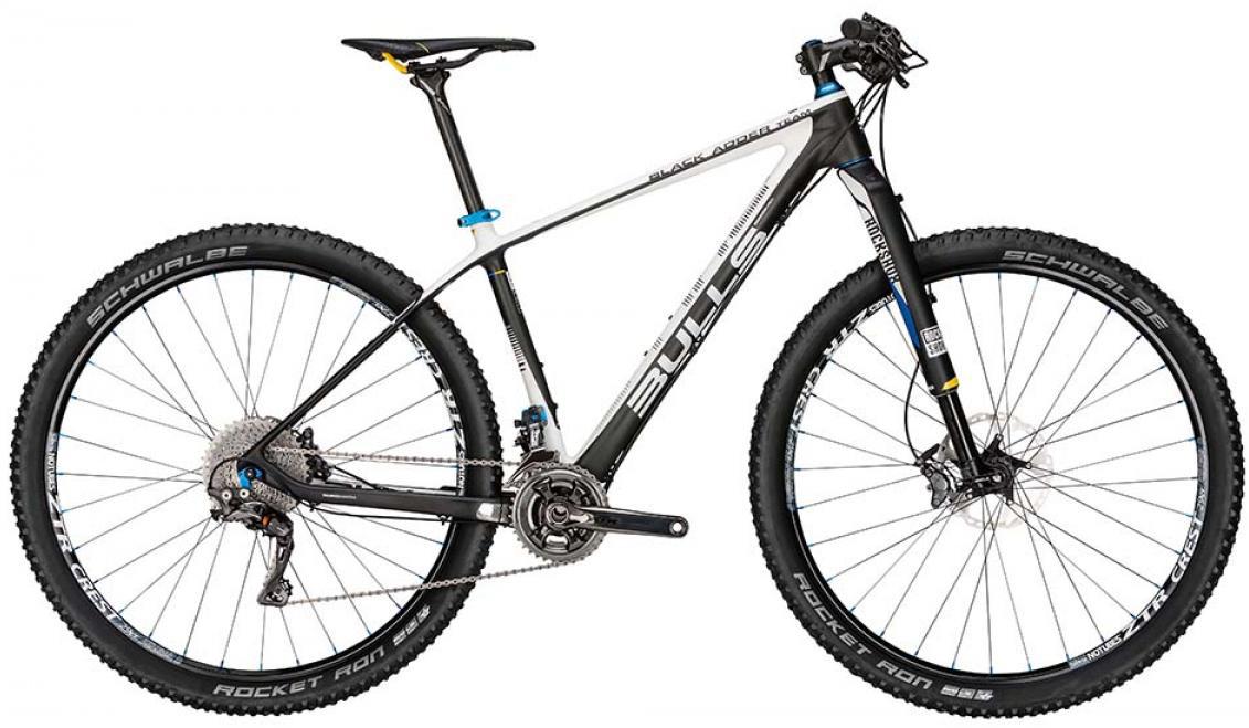 Велосипед горный Bulls Black Adder Team 2015, цвет: черный, рама 22, колесо 29128727